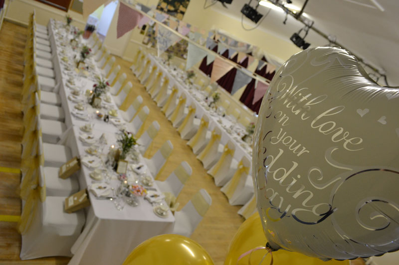 Ribble valley Lancashire wedding catering